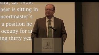James A. Grymes speaks about Ernst Glaser