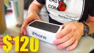 Айфон 7 за 120 Долларов