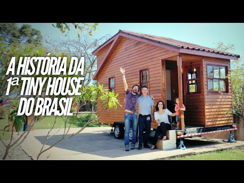 A Primeira Tiny House Sobre Rodas Do Brasil é Genuina E