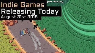 Top 6 New Indie Games Releasing Today - August 21st 2018