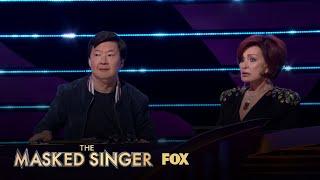Ken Does A Great Sharon Osbourne Impersonation | Season 3 Ep. 13 | THE MASKED SINGER