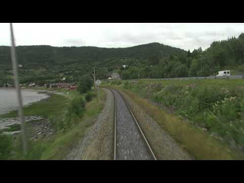 Cab Ride Norway : Trondheim - Bodø (Summer) Nordland Line