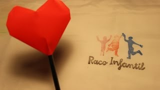 Cómo hacer un corazón hinchable en Origami