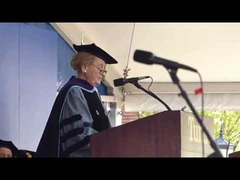Madeline Albright at Tufts Commencement