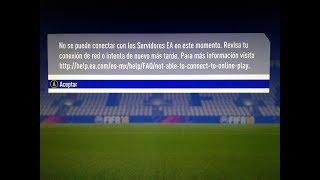 ¿QUE OCURRE CON LOS SERVIDORES DE FIFA 18 ULTIMATE TEAM? ¡¡LLAMANDO A EA SPORTS EN DIRECTO!!!