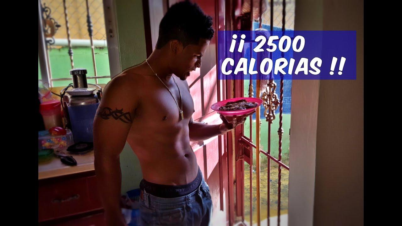 dieta para adelgazar 2500 calorias