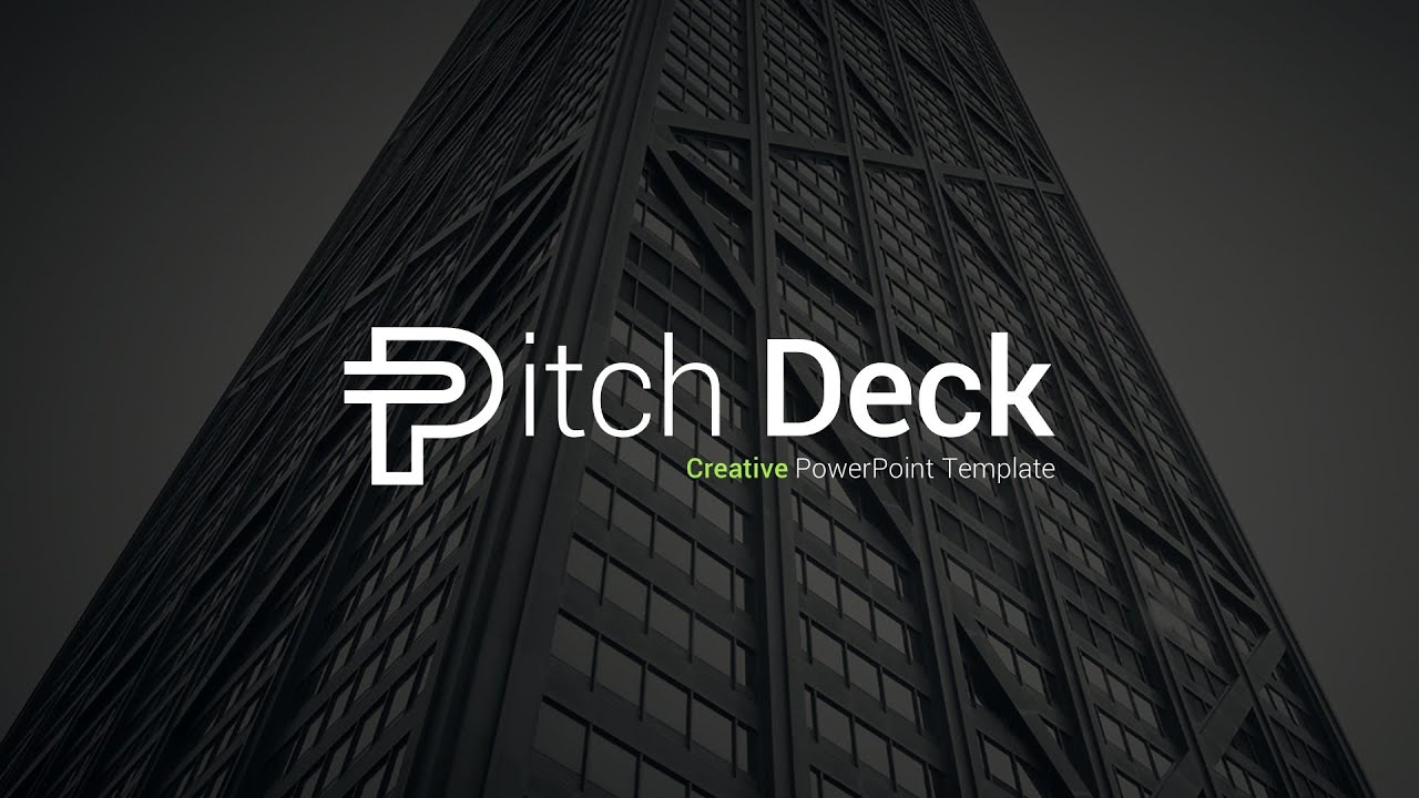 pitch deck presentation