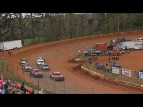 Stock 8 Main @ Toccoa Raceway April 8th 2018