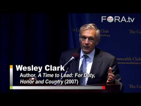"Wes Clark - America's Foreign Policy ""Coup"""