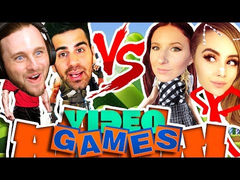 BOYS VS GIRLS: PLAYING VIDEO GAMES WITH FRIENDS *not clickbait*