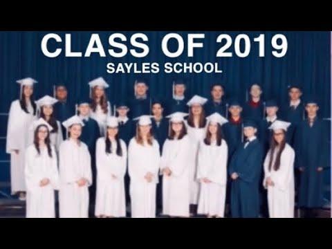 Sayles School Class Of 2019