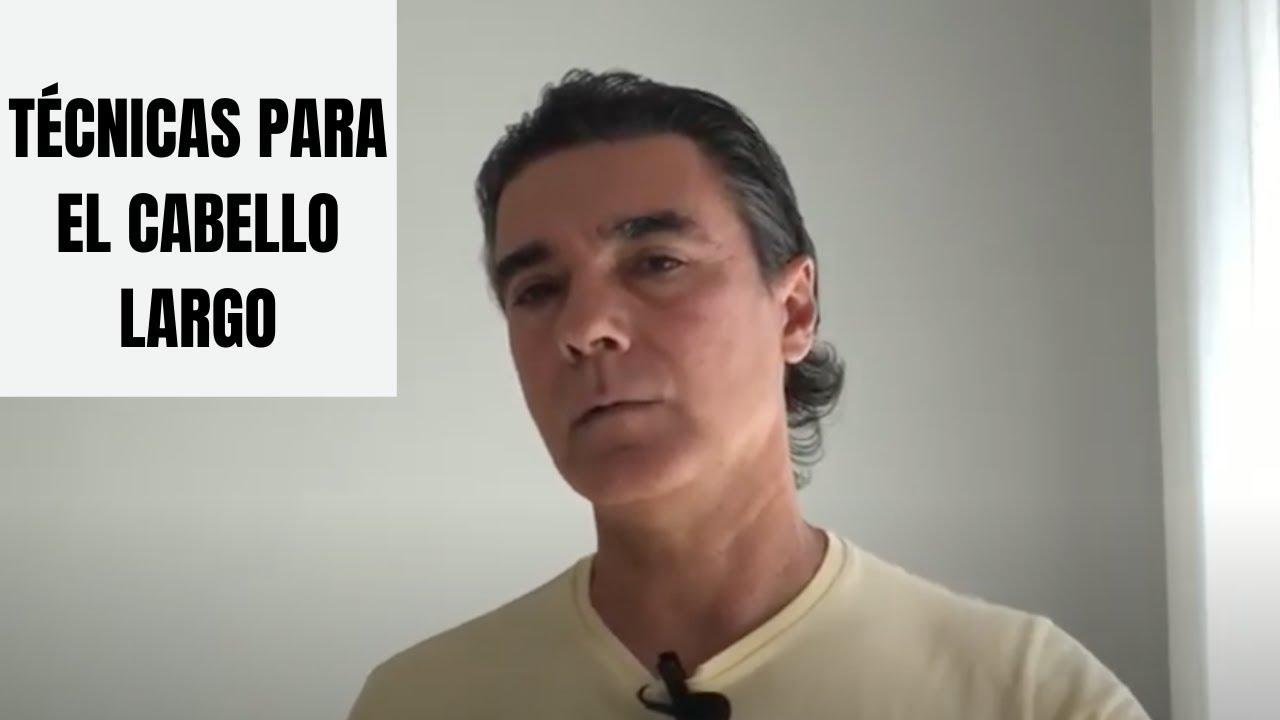 Técnicas básicas para el cabello largo hombre
