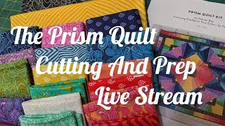 The Prism Quilt - Cutting And Prep -  Live Stream Replay