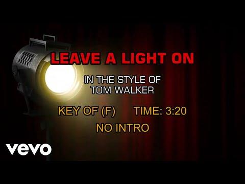Tom Walker - Leave A Light On (Karaoke)