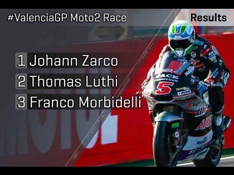 Highlight Moto2 2016 - Spain Valencia Ricardo Tormo Circuit (Johann Zarco Champion)