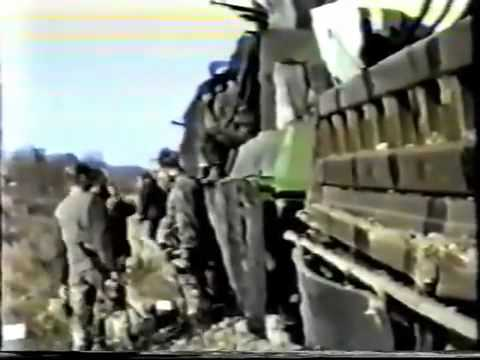 Bosnia-Gradacac War footage part 3