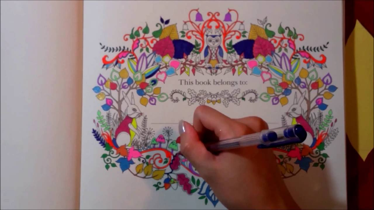 Enchanted Forest Coloring Book For Adults 1