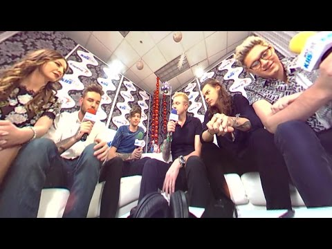 One Direction Gives Info On Their Break at KIISFM's Jingle Ball in 360 Degrees!