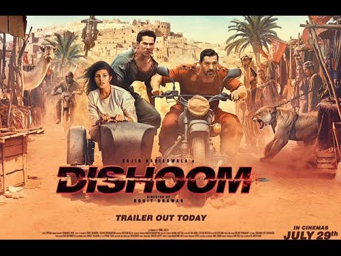 Dishoom Official Trailer Today | Varun...