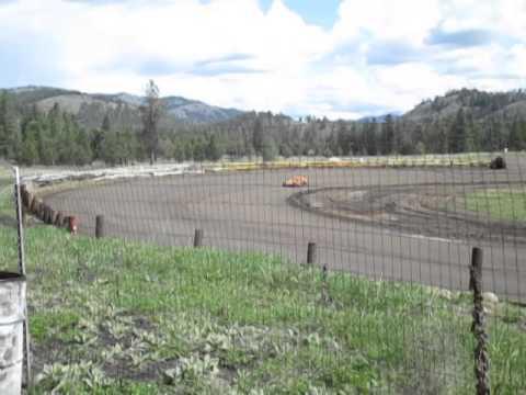 Eagle Track Raceway Bryan Hobbs Practice #1 May 10th 2014