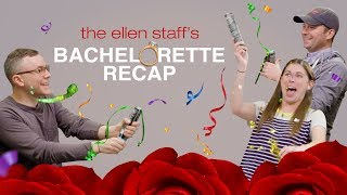 Ellen's Staff Welcomes Becca as the New Bachelorette!