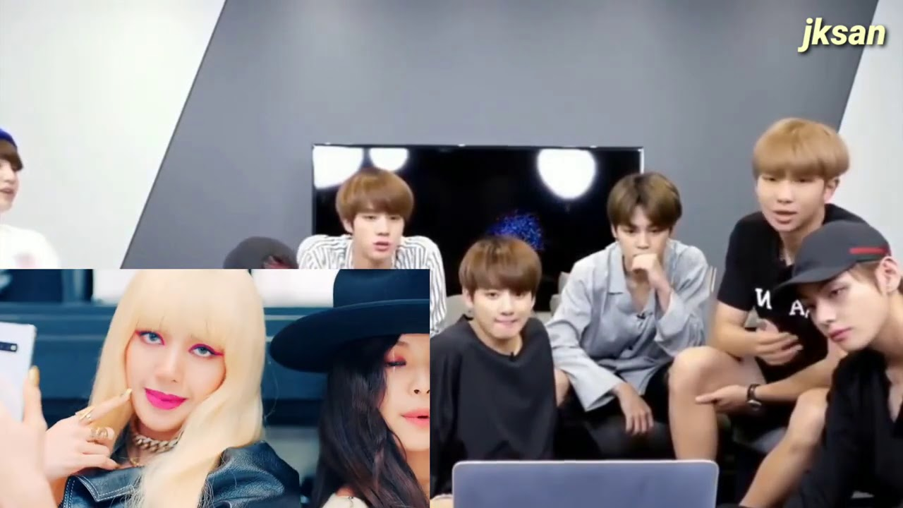 Download BTS Reaction To BLACKPINK - 'KILL THIS LOVE' MV
