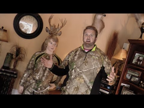 Jeff Hall's Hunting Trophy Room - SO MANY TROPHIES!!