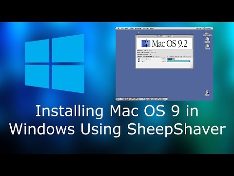 How To Install Mac OS 9 In Windows Using SheepShaver