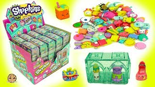 Full Surprise Box 60 Mystery Shopkins - Toy Blind Bag Houses - Season 8 World Vacation