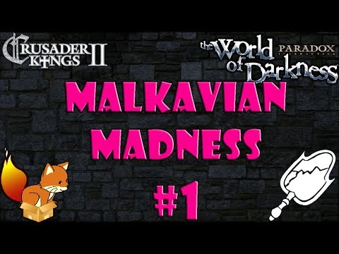 Crusader Kings 2 - Princes of Darkness mod - Malkavian Madness #1