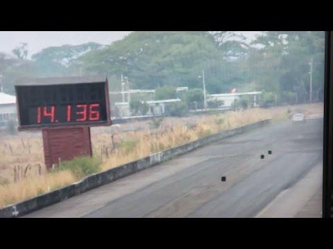 Civic X 1.5 Turbo (KTuner) @ 1/4 mile Guatemala RaceWay 14.136 @ 100.80mp/h (English Version)