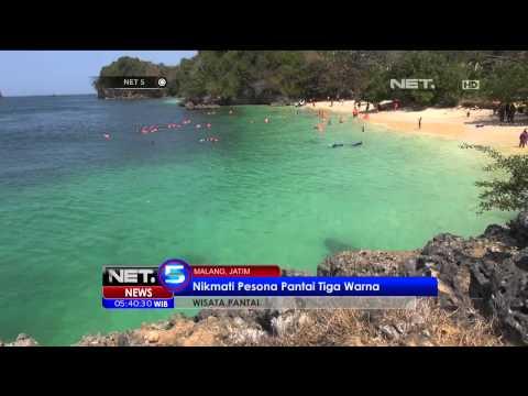 Pantai 3 Warna Di Malang - NET5