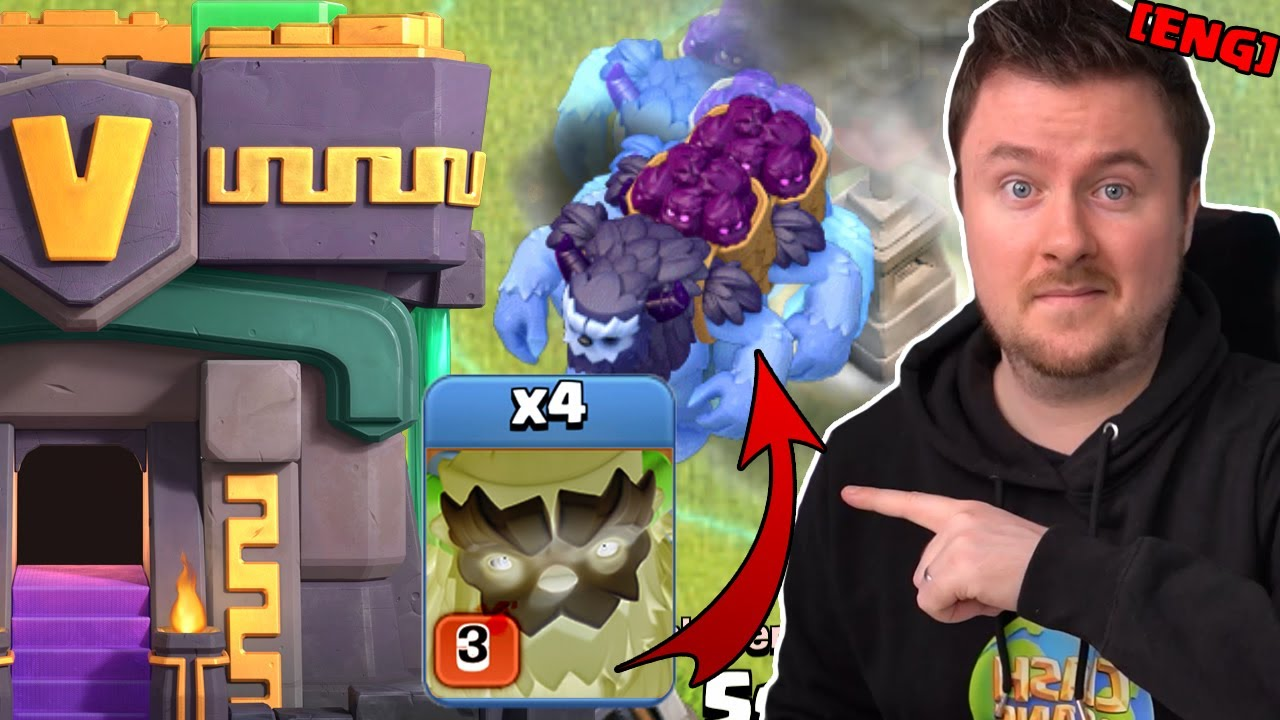 Town Hall 14 Update | Cloned Yeti Blimp is so much fun | #clashofclans