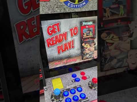 arcade1up street fighter upgrade 2400 games custom riser from J M Arcades