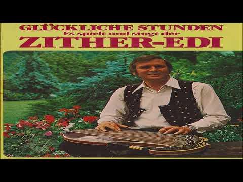 BLAUER SEE - ZITHER-EDI (Volksmusik) (Oldie) Folk Song, Evergreen, Schlager, Bellaphon Records, 1975