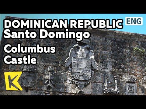 【K】Dominican Republic Travel-Santo Domingo[도미니카 여행-산토 도밍고]콜럼버스 성/Columbus/Museum/Square