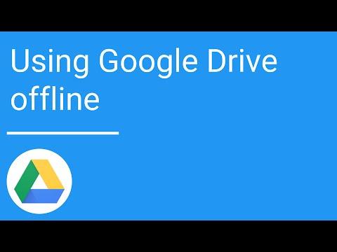 Google Drive: Using Drive offline