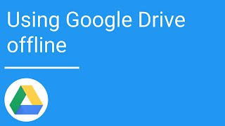 Google Drive: Using Drive offline thumbnail