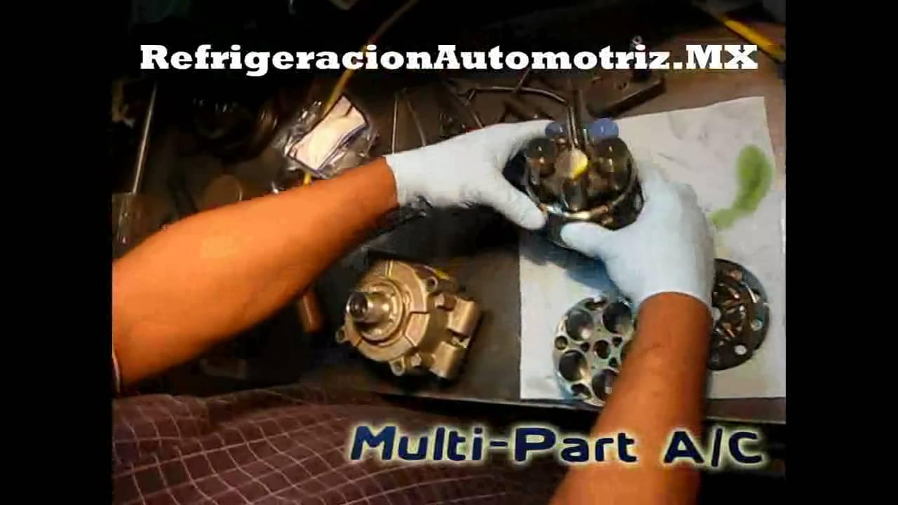 Reconstrucci 243 N De Compresor Para Refrigeraci 243 N Automotriz