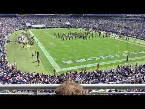 Marching Ravens opening day 2016