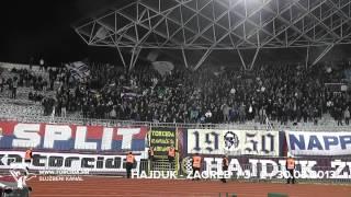 Torcida Split / Hajduk Split - NK Zagreb 3:2 (25. Kolo MAXtv Prva Liga)