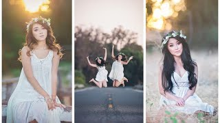 Chasing Golden Hour Photo Shoot | Behind the Scene