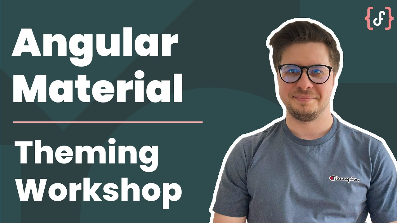 Angular Material Theming - Workshop (Promo, Advanced Level)