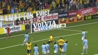 Fotboll : IF Elfsborg vs Malmö FF 4-1 (2012-08-12)