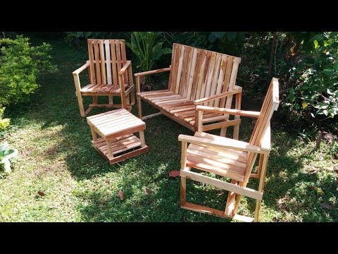como-hacer-sillas-jardineras---how-to-make-garden-chairs