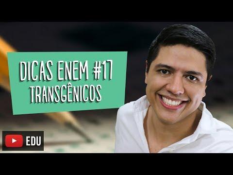 BIOTECNOLOGIA (TRANSGÊNICO) - DICA ENEM BIOLOGIA #17  - Prof. Kennedy Ramos