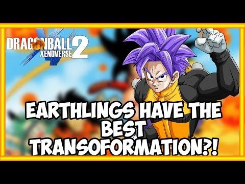Dragonball Xenoverse 2:Humans Have The BEST Transformation In The GAME?! (DISCUSSION)