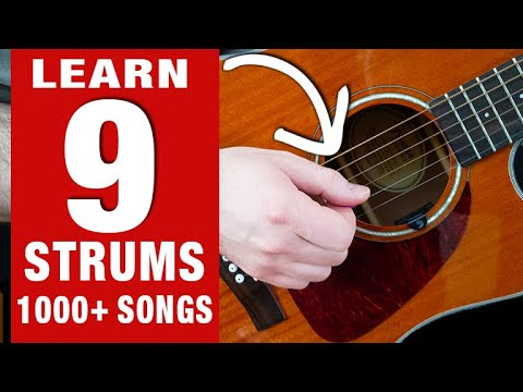 Cover 1000's of Songs with These 9 Strum Patterns! (EASY & FAST!)