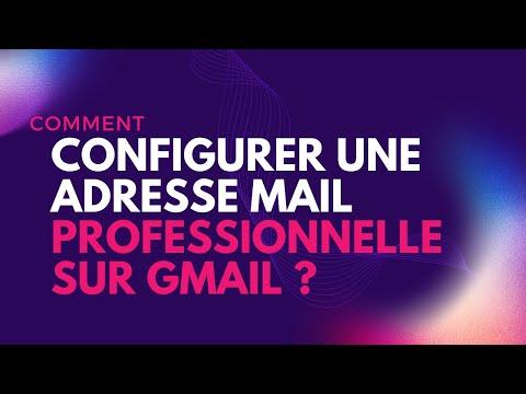 Configurer Gmail Pour Recevoir Ma Messagerie Professional.