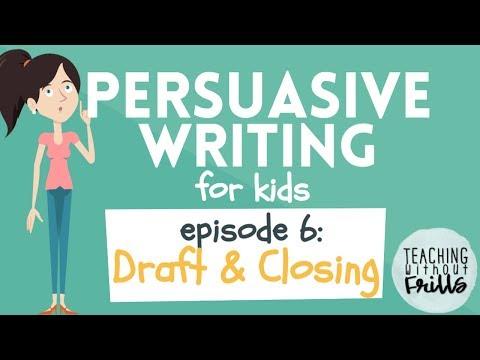Видео 6 paragraph persuasive essay outline